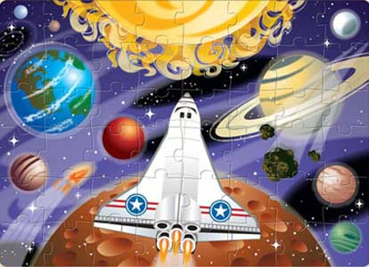 Space Voyage Jigsaw Puzzle
