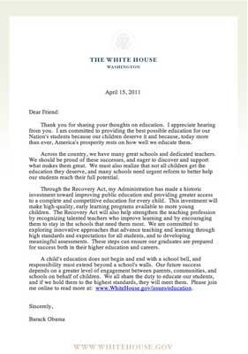 White House Response