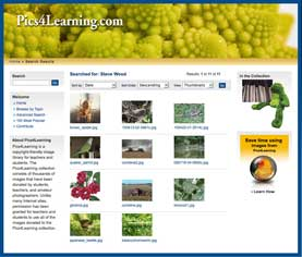 My Pics4Learning Page