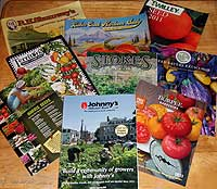 Seed catalogs - 2011