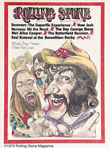 Cover - Rolling Stone - March 29, 1973