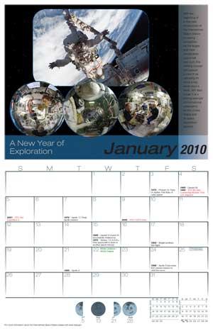 ISS Calendar