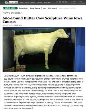 600 Pound Butter Cow