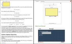 cK12 text + Wolfram