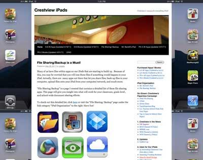 Crestview iPads