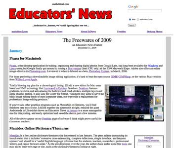 The Freewares of 2009