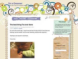 I'm a Dreamer blog