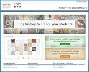 National Archives Docs Teach