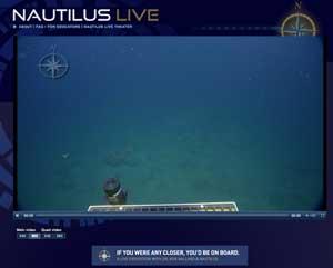 Underwater feed