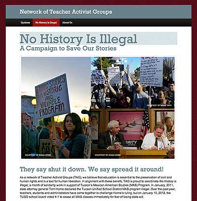 No History Is Illegal