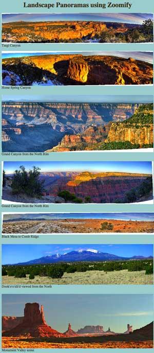 Jim Crittenden panoramas