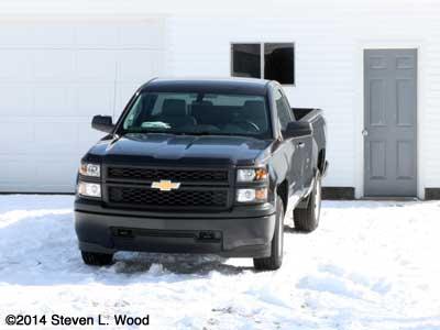 2014 Chevy Silverado work truck